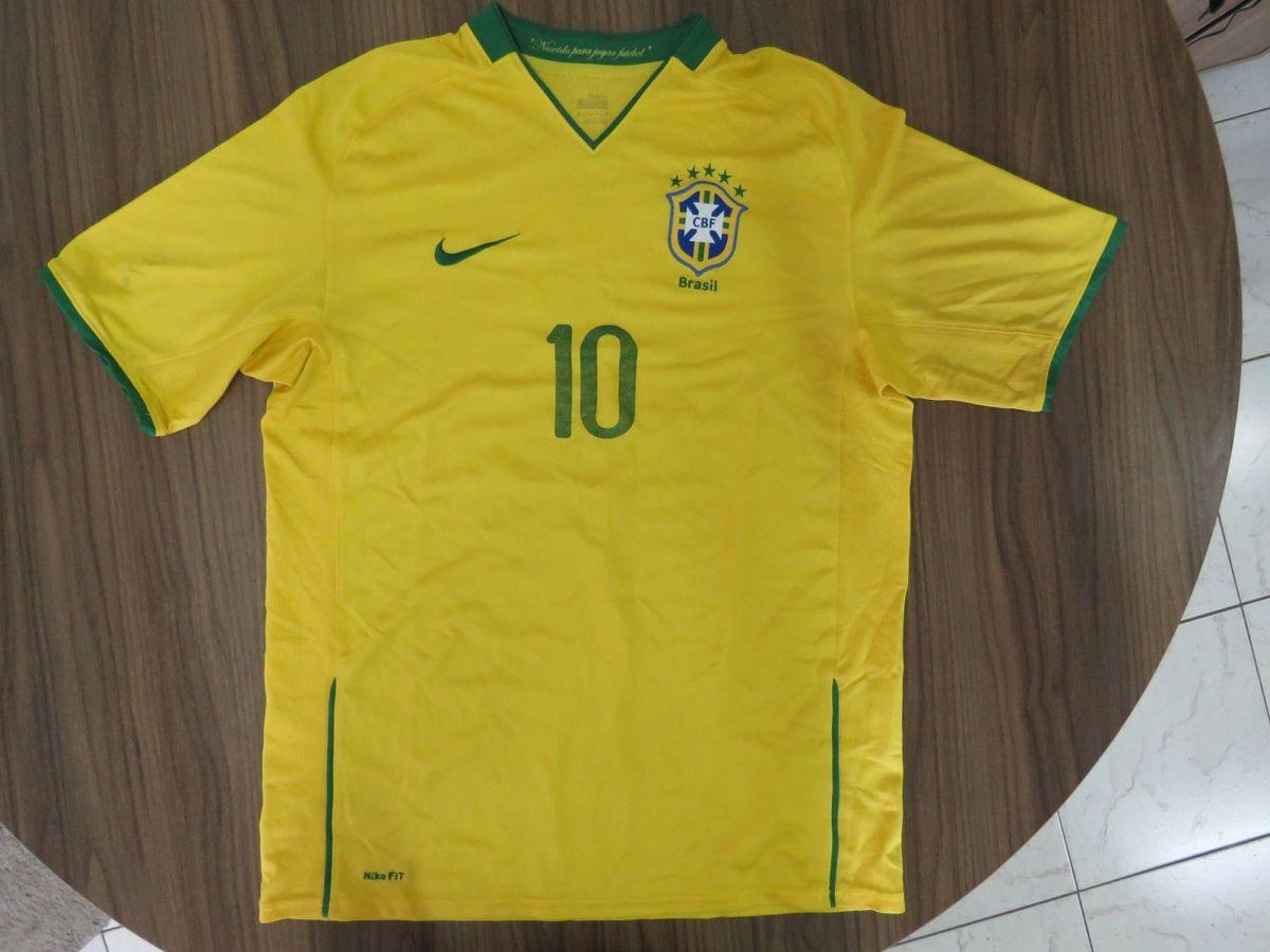 brasil camisa original nike ano 2008 - esportes nike d81af054bae19