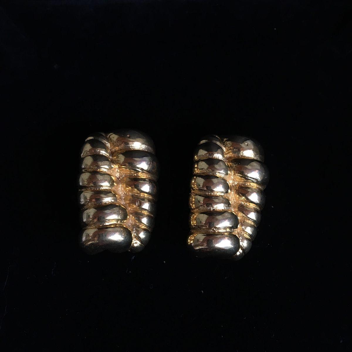 brinco vintage - bijoux vintage