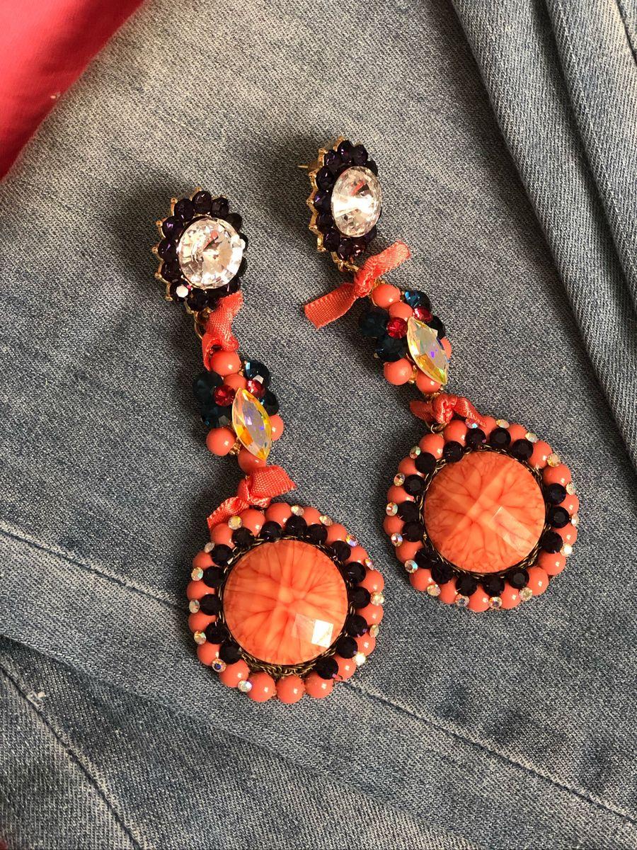 brincos de luxo - bijoux luleticia