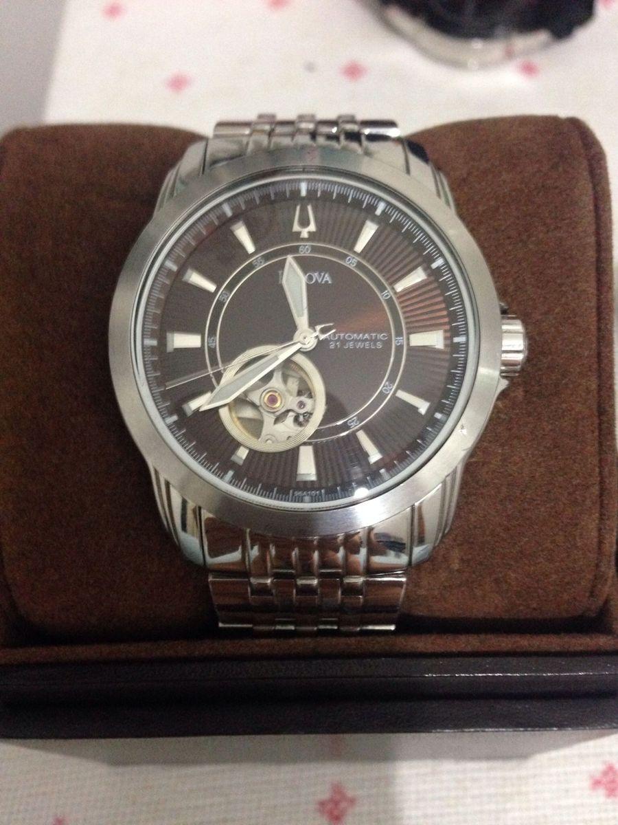 5e1767176f0 bulova automatic 21 jewels - relógios bulova.  Czm6ly9wag90b3muzw5qb2vplmnvbs5ici9wcm9kdwn0cy85nju2mjkvzwzmmzlhmdi1mgnkmtm2mgy5zja4zdzhytiymtg3mjeuanbn  ...