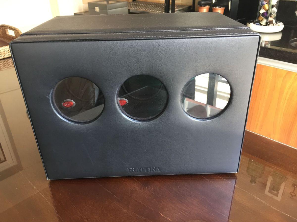 975b3163a99 caixa para relógios - movimentadora - outros frattina