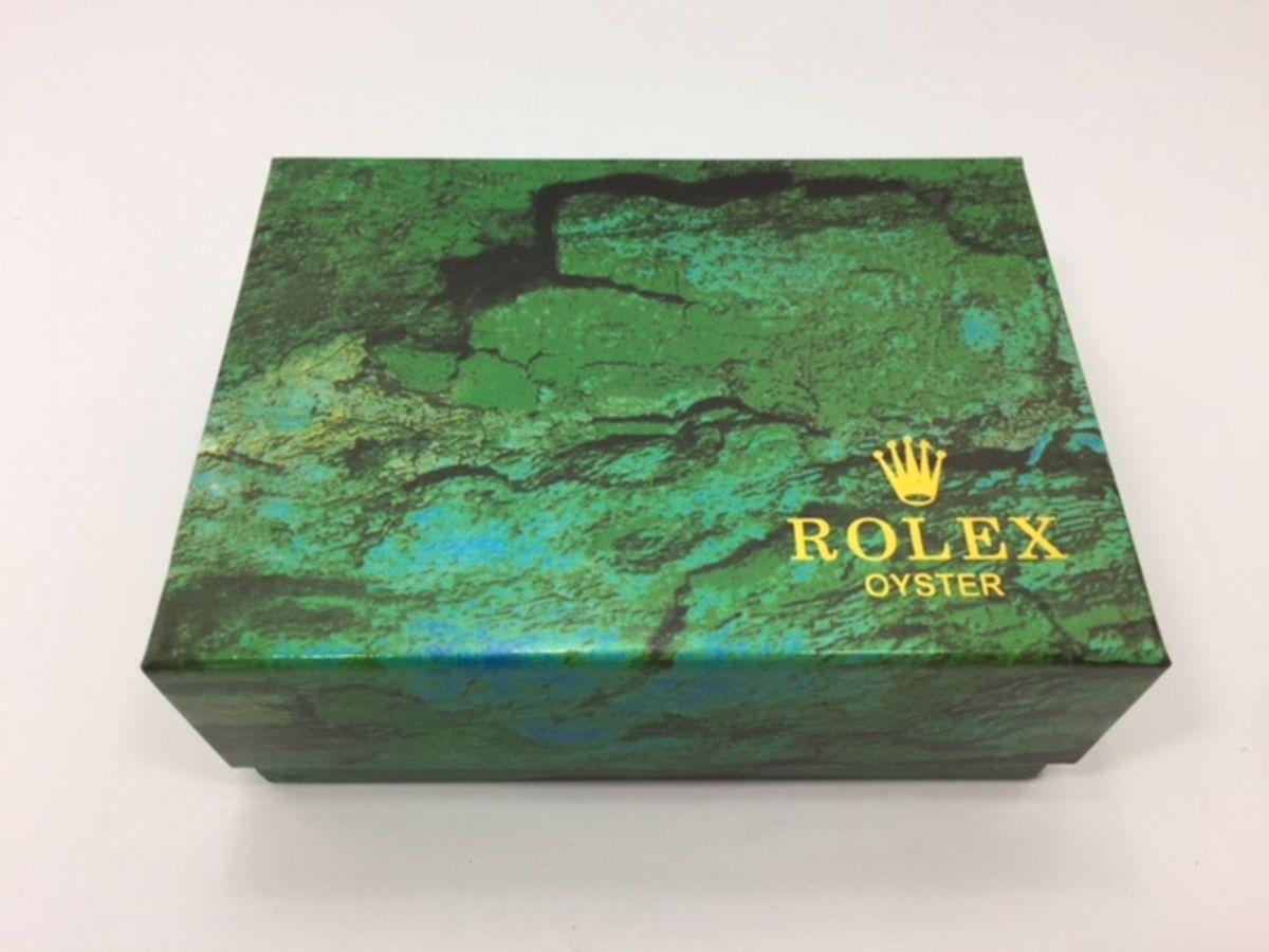0a7b06d0148 caixa para relógio rolex verde tradicional - relógios caixa