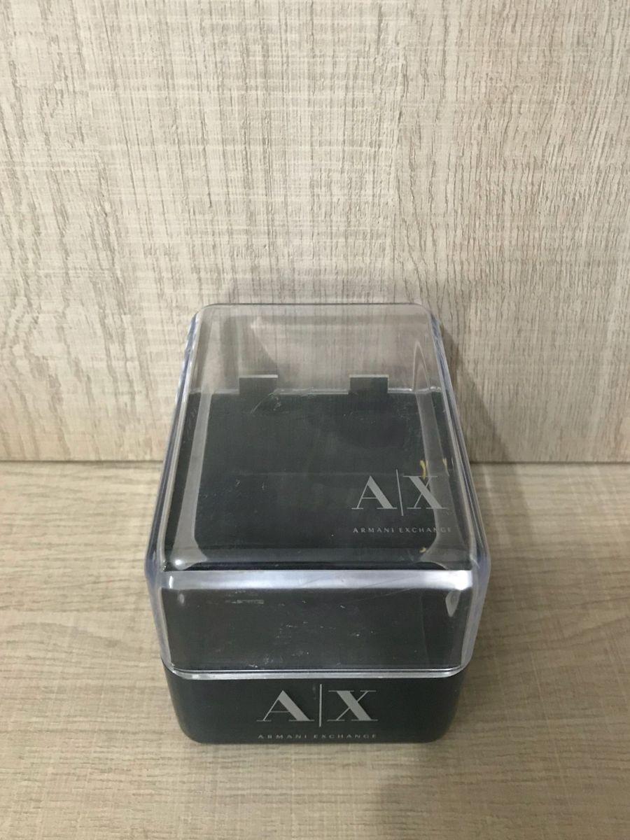 Caixa Relogio Ou Porta Treco Armani Exchange   Produto Masculino ... 4293e83660