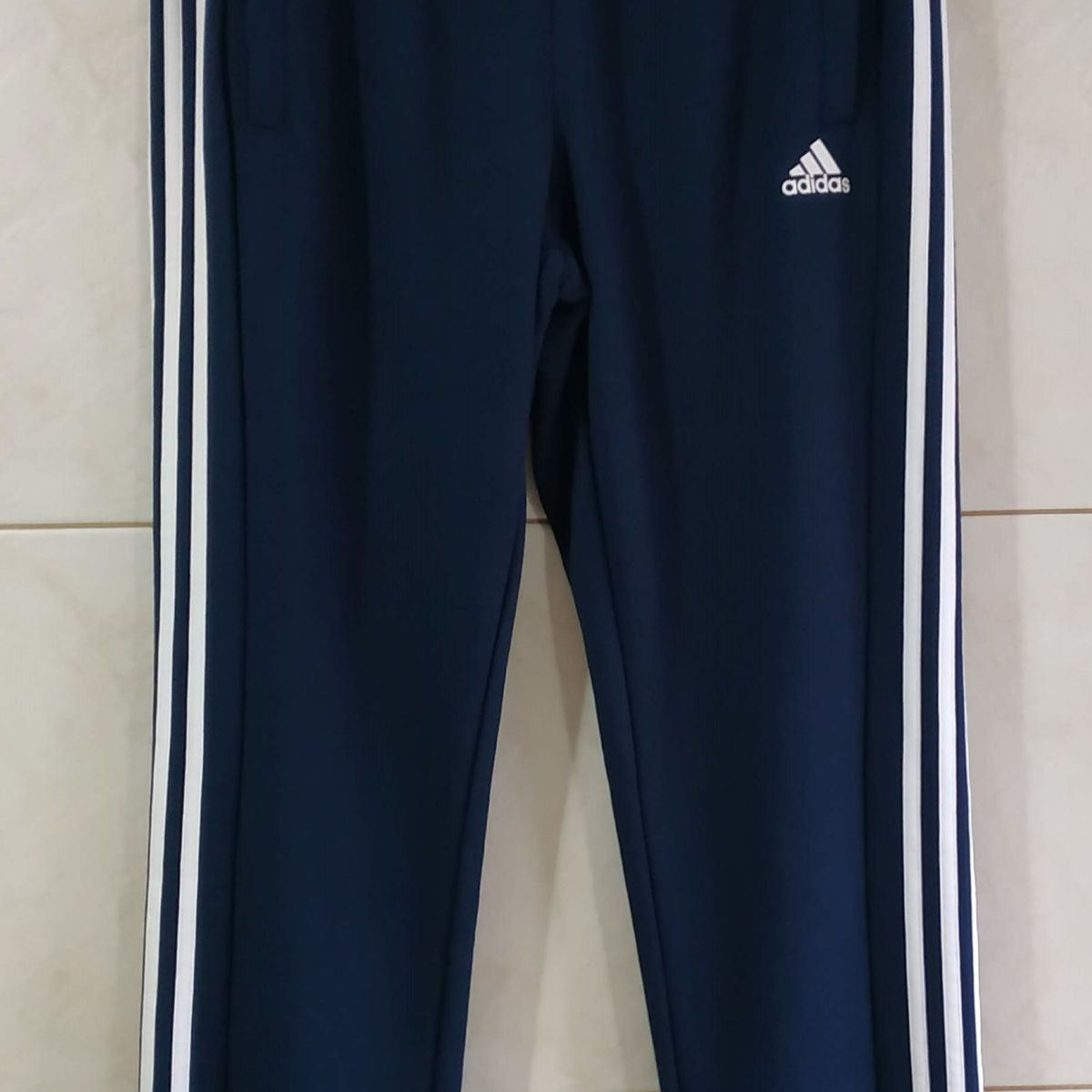 Calça Adidas Performance Reta Tap Auth 1.0 Azul marinhobranca | Calça Masculina Adidas Nunca Usado 34621534 | enjoei