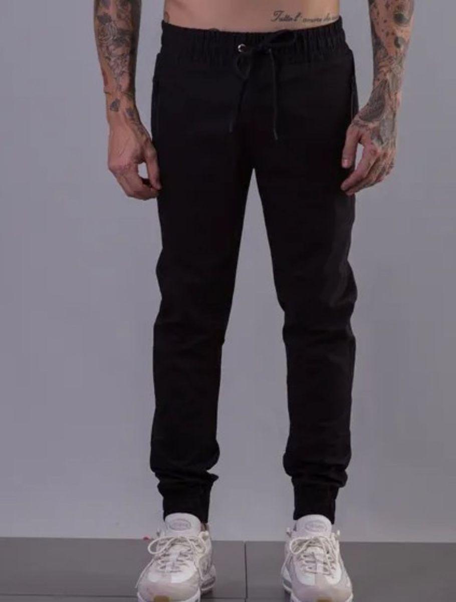 27ef723d0 calça approve de sarja preta nova - calças approve
