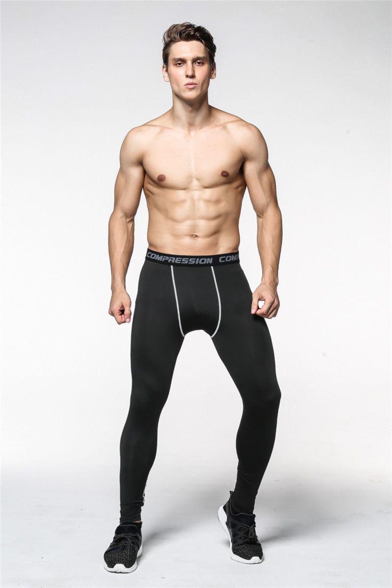 calça compressão masculina térmica - calças sem marca d458c9876993a