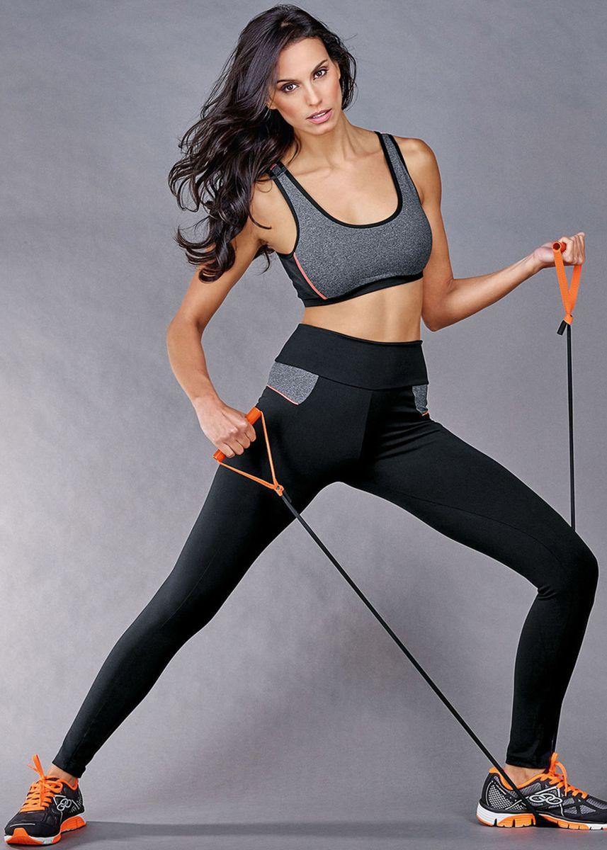 2d0cab4ba calça comprida tangent fitness demillus - p - calças demillus