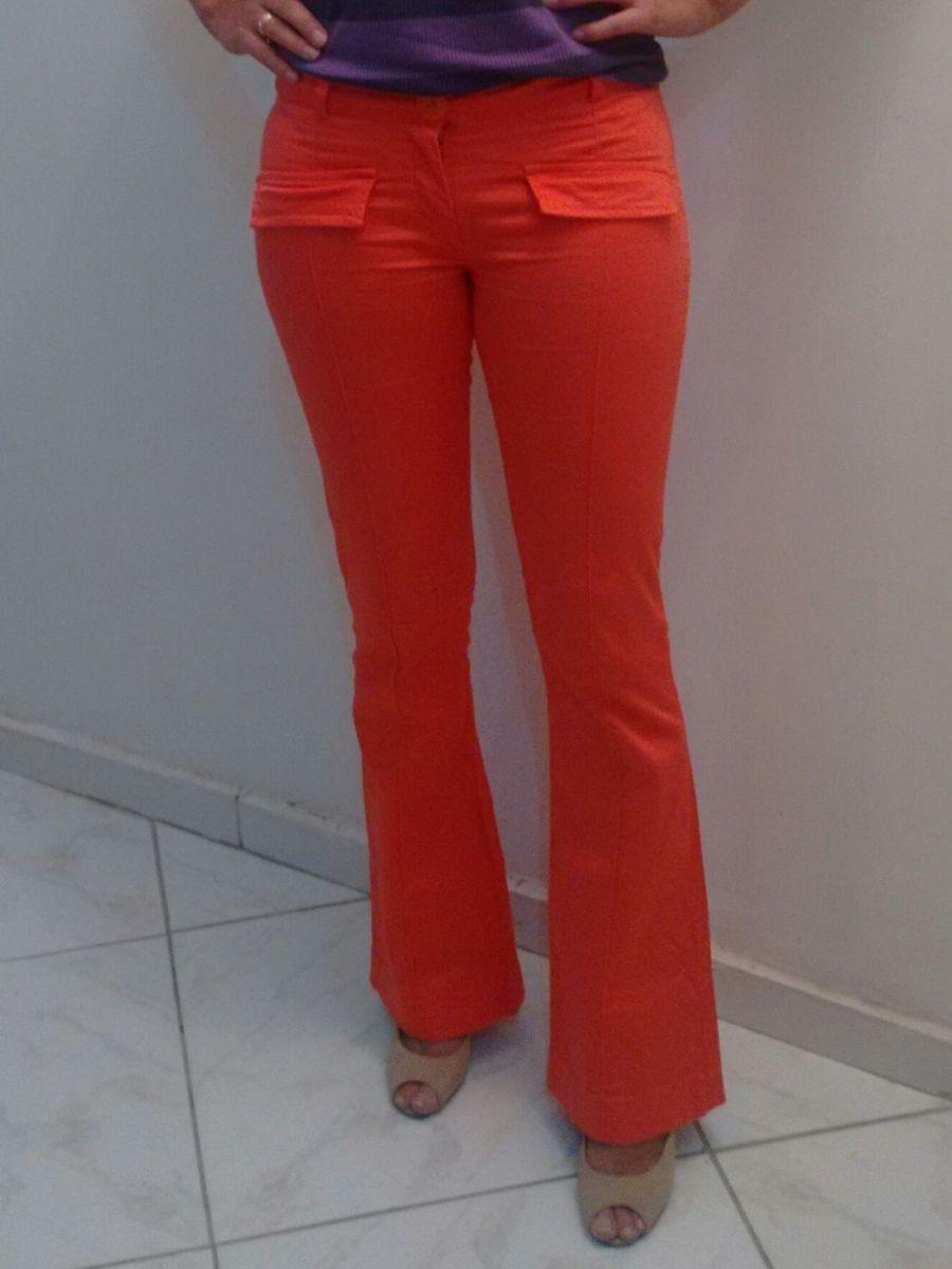 calça coral flare - calças griffteria