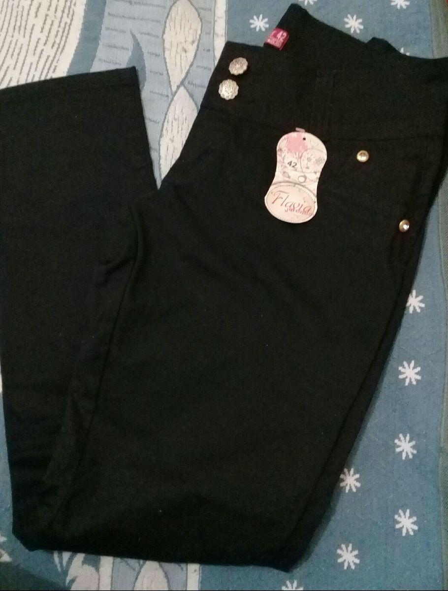 calça feminina preta - calças sem marca