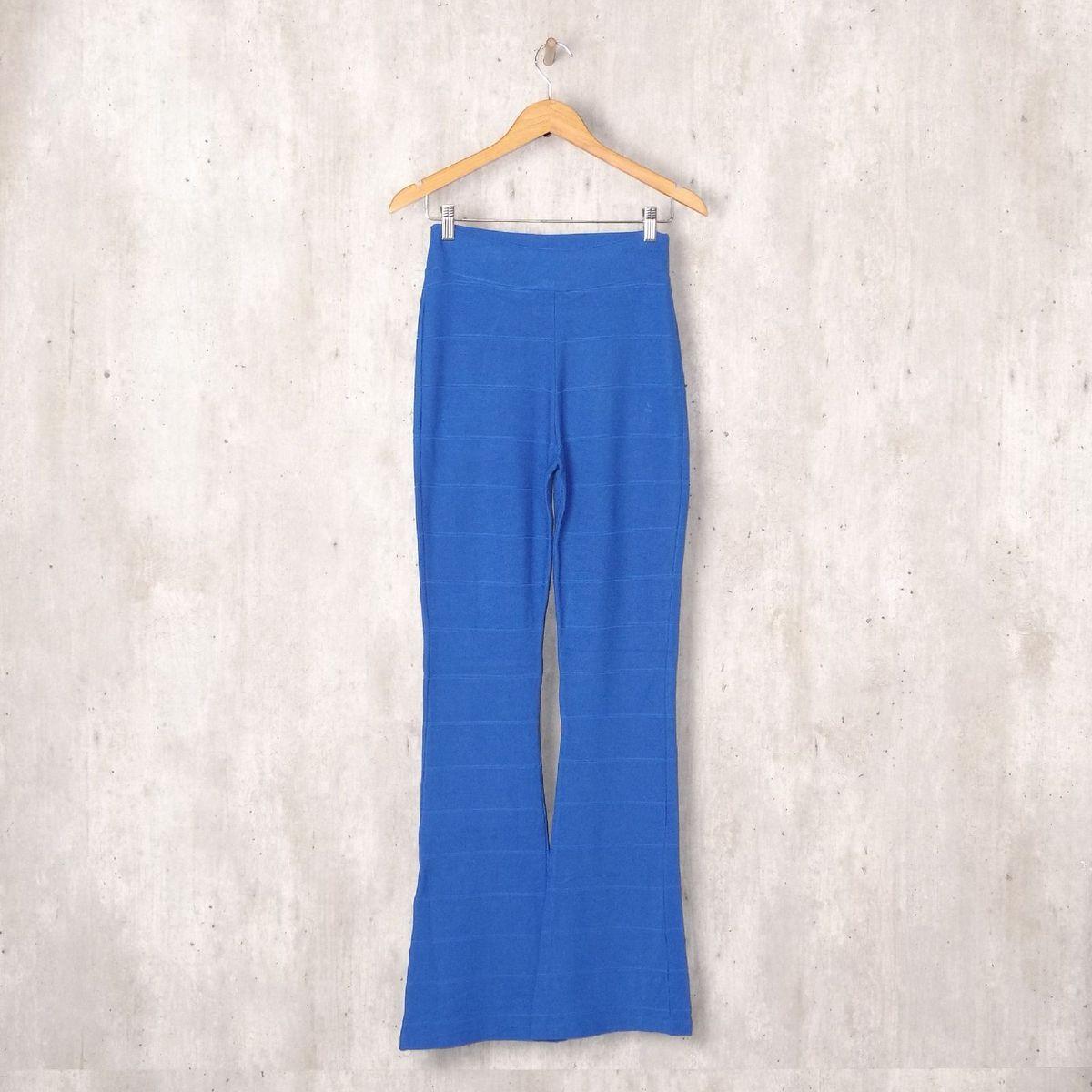 70851b4974c2 Calça Flare Azul | Calça Feminina Moda Feminina Sob Medida Usado 33458639 |  enjoei