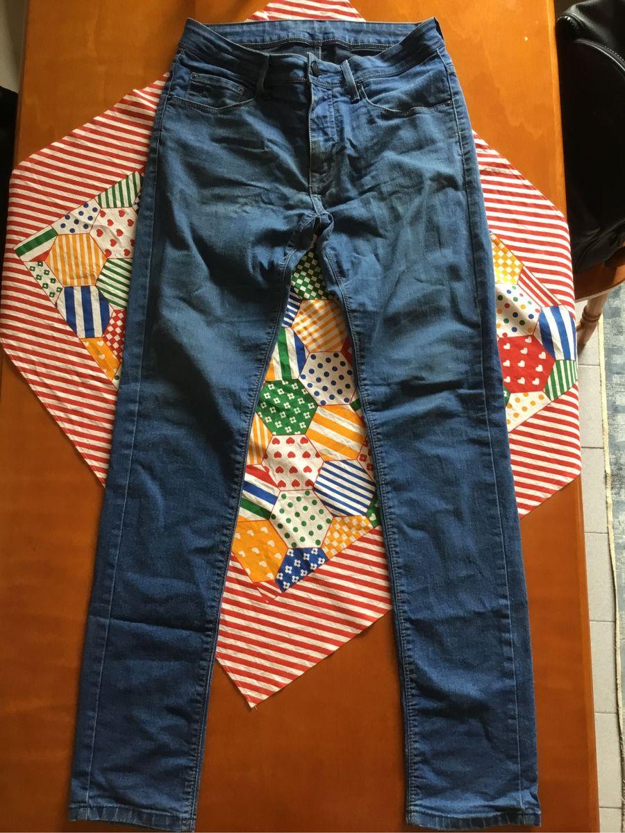 bcd4ab9c2 calça jeans azul calvin klein super skinny - calças calvin klein