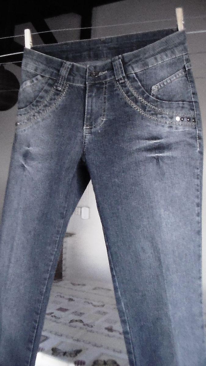 9762830fd Calça Jeans Azul