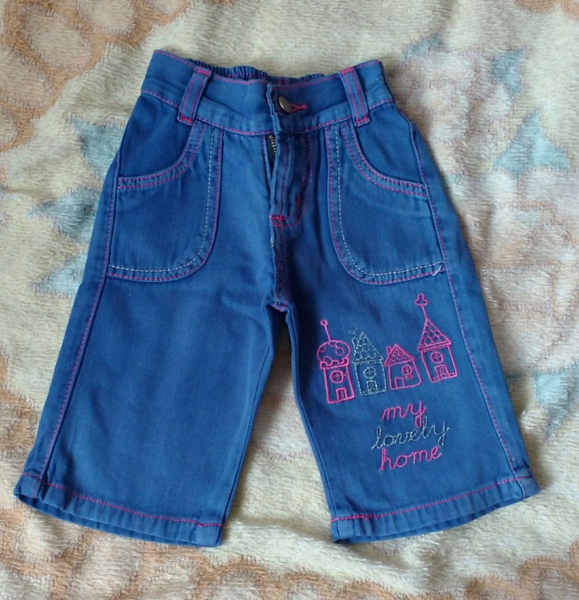 calça jeans baby - menina chicote jeans