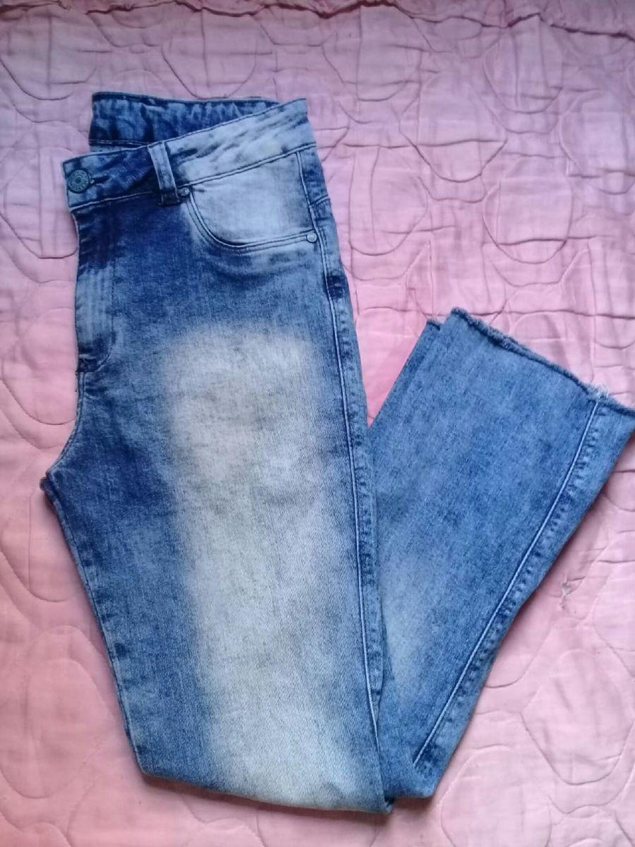 calça jeans bivik - calças bivik-jens