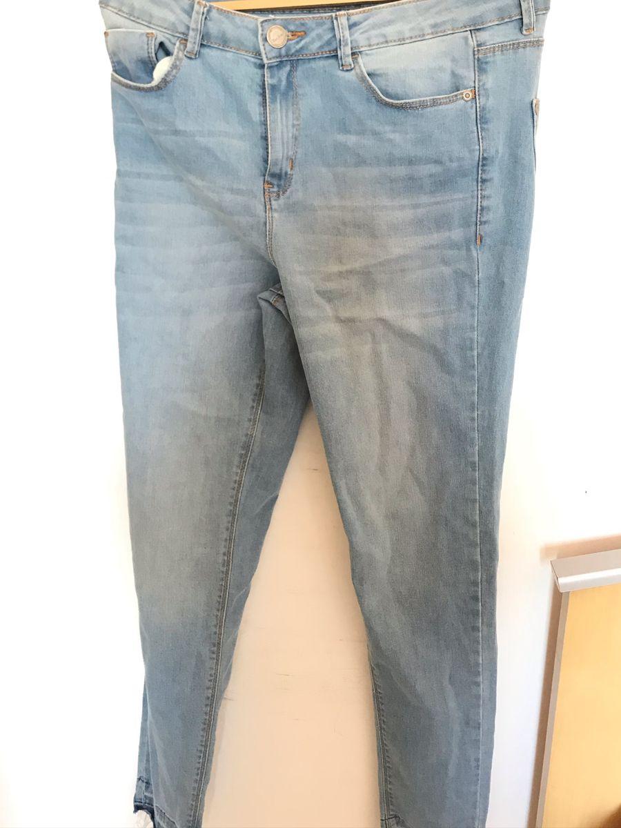 calça jeans bluestell clara - calças blue steel