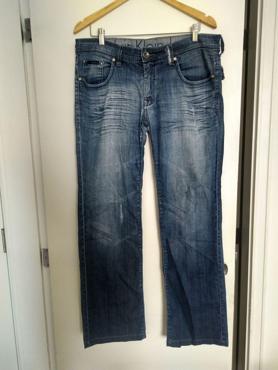 5addc04639e21 Calça Jeans Calvin Klein Cintura Baixa   Calça Masculina Calvin ...