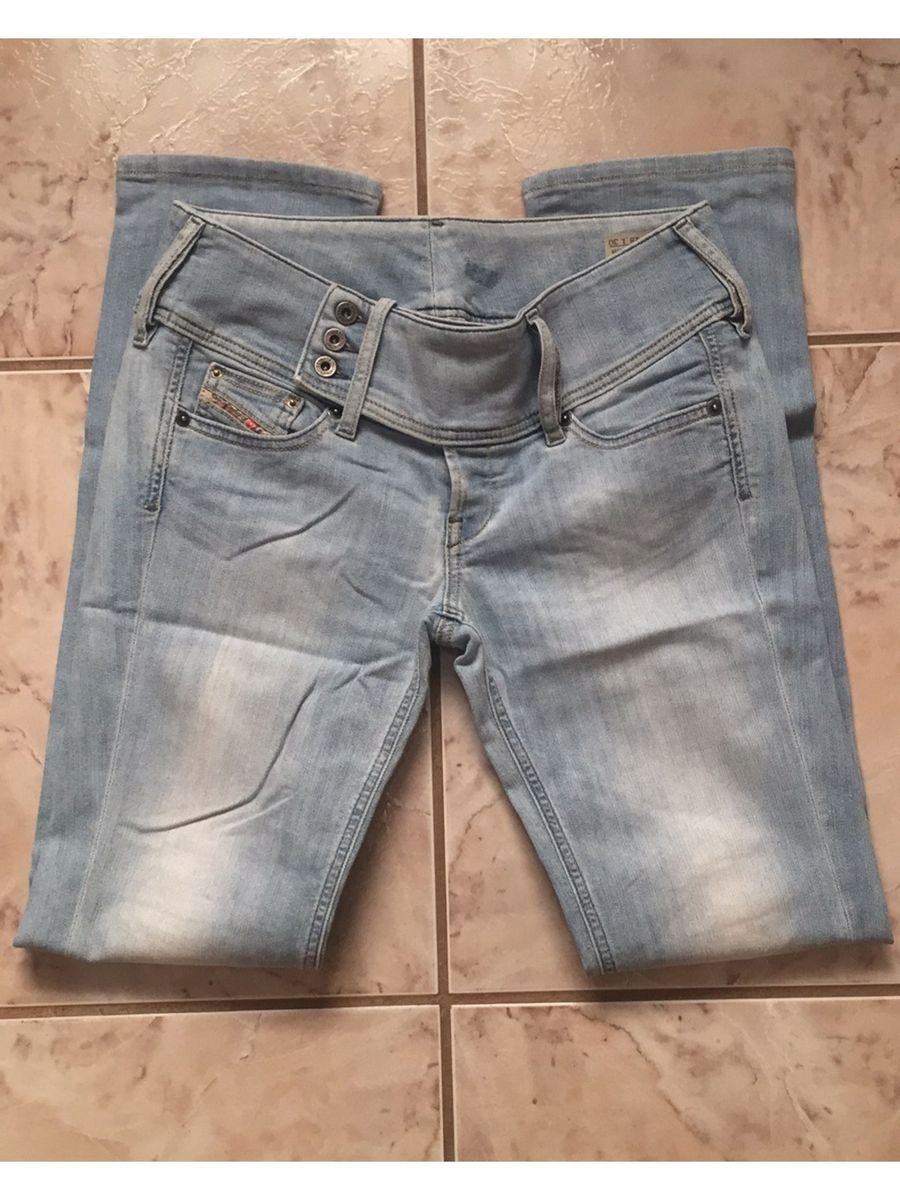 calça jeans clássica diesel - calças diesel