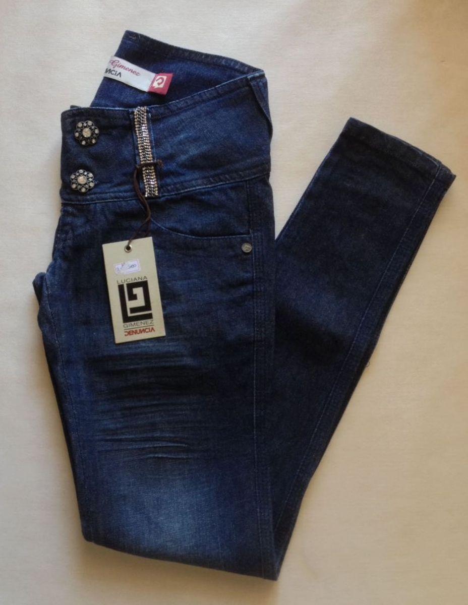 3fe46531a calça jeans denuncia 36 (nova) - calças denuncia jeans by luciana gimenez
