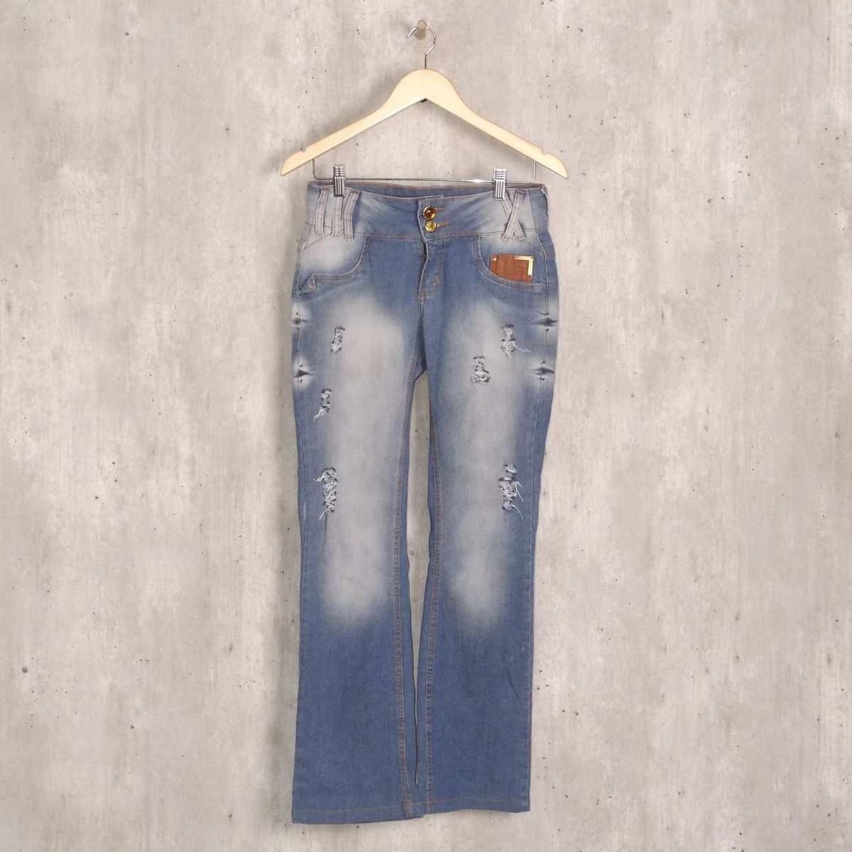 f6bbb5dde Calça Jeans Emporio | Calça Feminina Emporio Usado 31736031 | enjoei