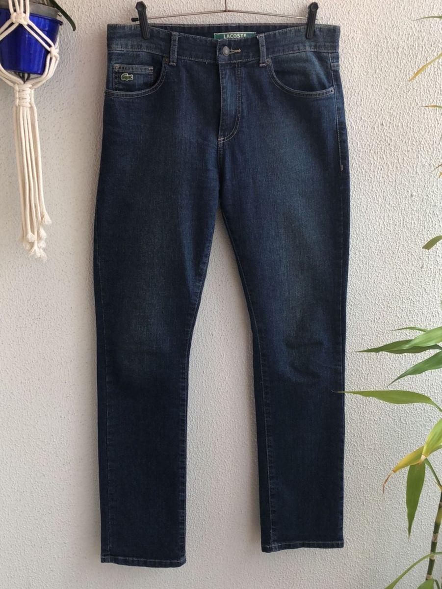 6c3bc7697d5ee calca jeans lacoste reta stretch - calças lacoste.  Czm6ly9wag90b3muzw5qb2vplmnvbs5ici9wcm9kdwn0cy8yodm1njgvyjq1zwfmota1ndizzgzimwvhotfhyjc2nmuwyzg5yzmuanbn  ...