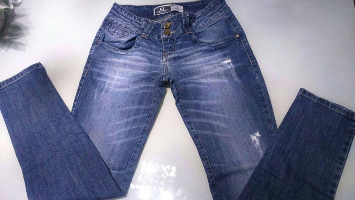 a1e45de90 Calça Jeans - Marca Lado Avesso - Tam. 38 | Calça Feminina Lado ...
