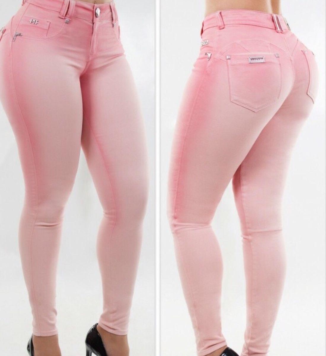 a31d8119a Calça Jeans Pitbull Original | Calça Feminina Pit Bull Jeans Nunca ...