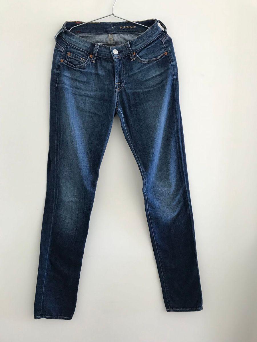 e53ea16ec Calça Jeans Seven Original | Calça Feminina 7 For All Mankind Usado ...