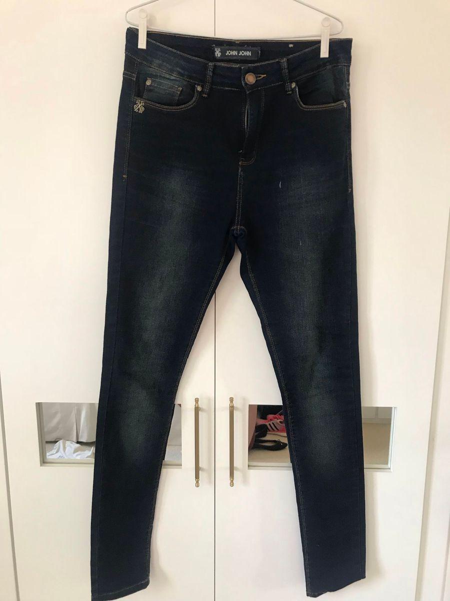 calça jeans skinny john john 42 - calças john john cd05e27769974
