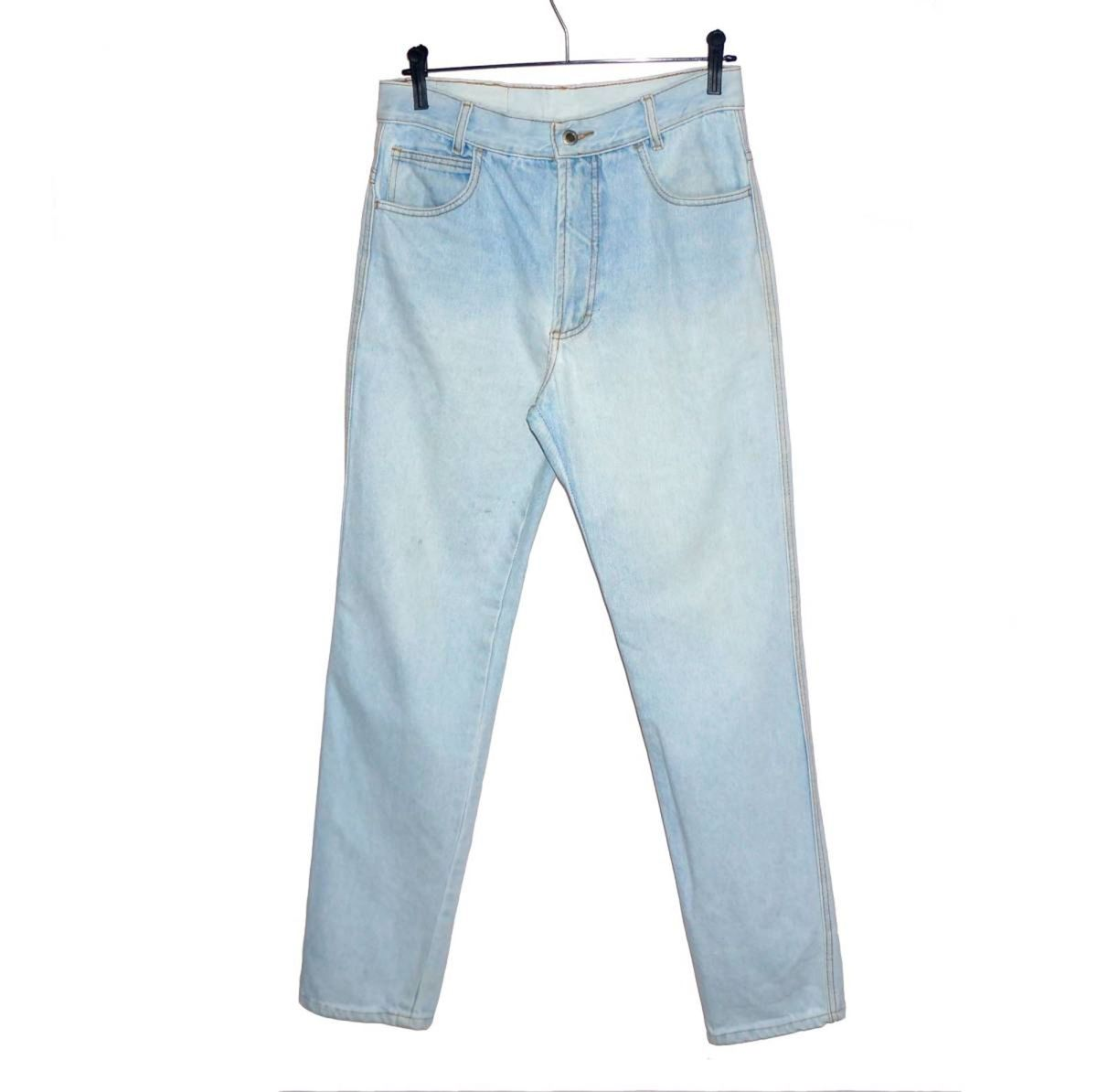 be011dce1264 calça jeans vintage cintura alta mom jeans unisex seminova - calças hamuche