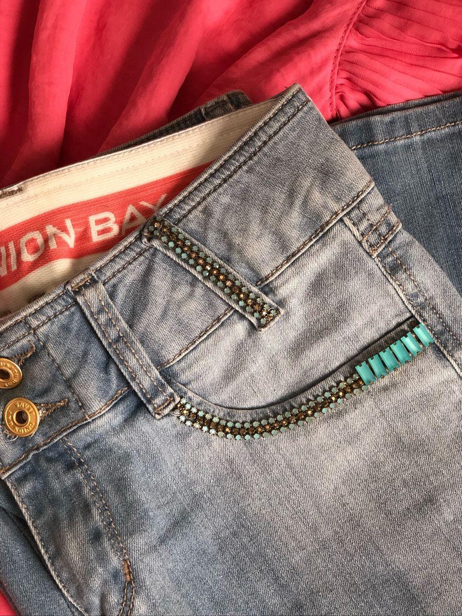 calça jeans - calças union-bay