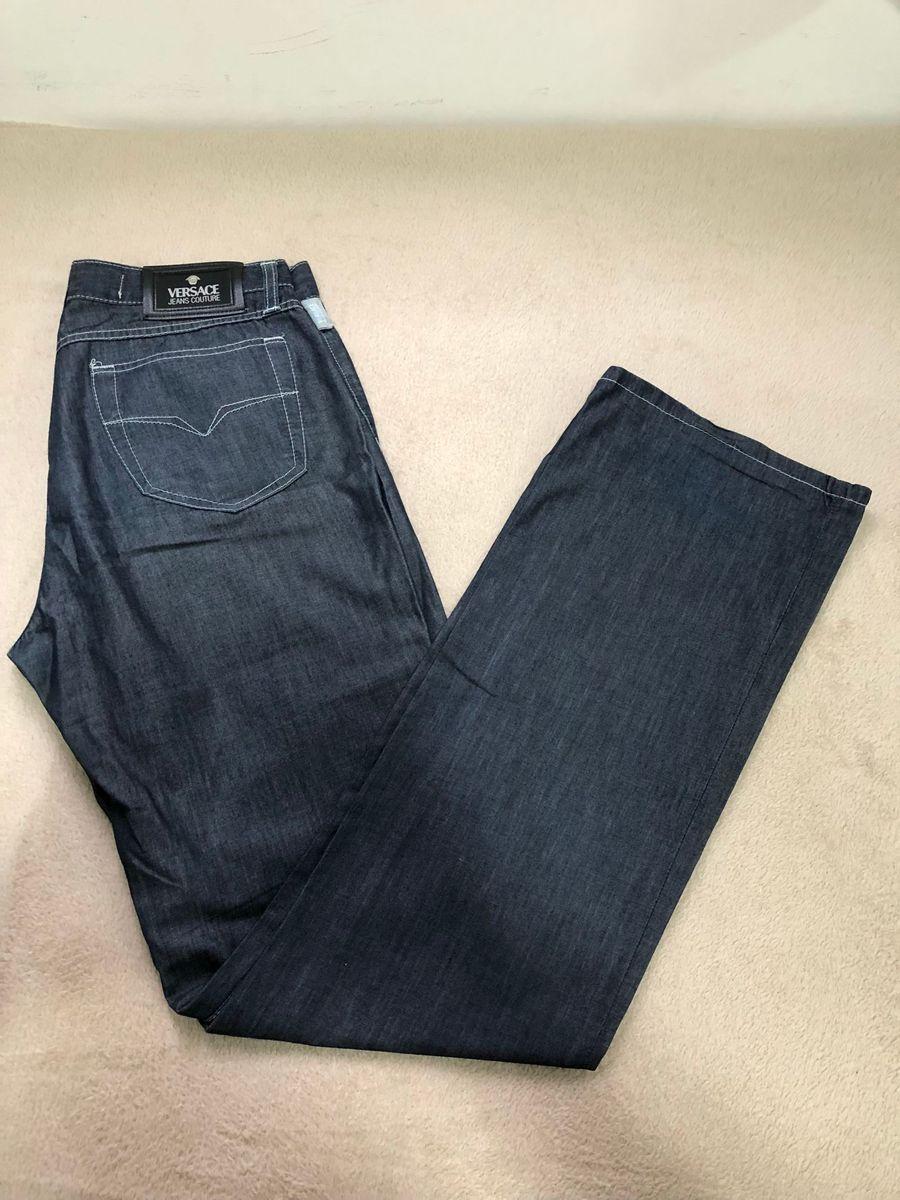 promoção 2em1!!! calça versace original + blusa polo ralph lauren original  - calças a0e95c49e19
