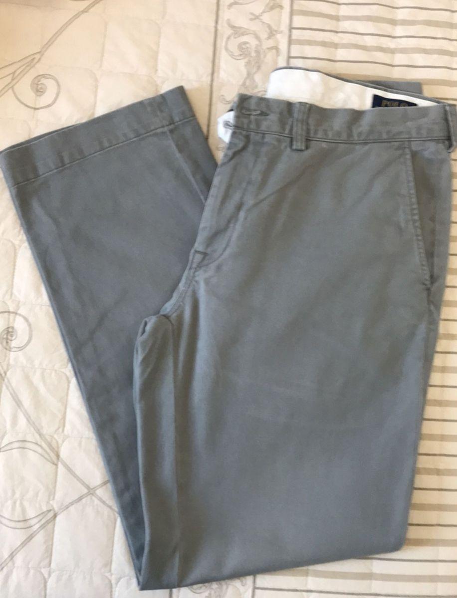 calça sarja polo ralph lauren gelo - calças polo-ralph-lauren 1e6a0164fed