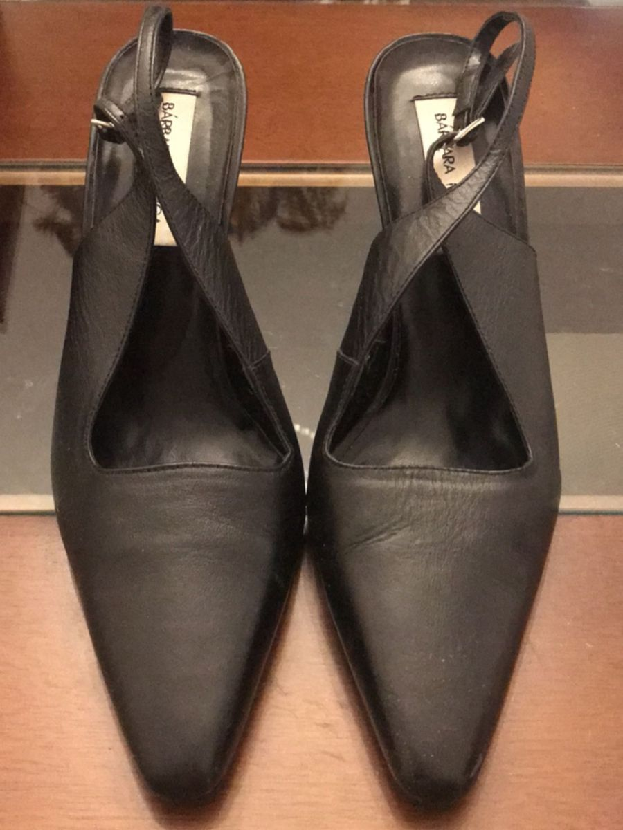 3f5a281bcc calçado mule com amarração no tornozelo preto - sapatos barbara-manica