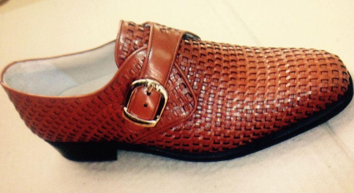 Calçados Masculino 100% Couro Feito a Mão em Pelica   Sapato Masculino  Classmocassin Nunca Usado 22550861   enjoei fa8860fdde