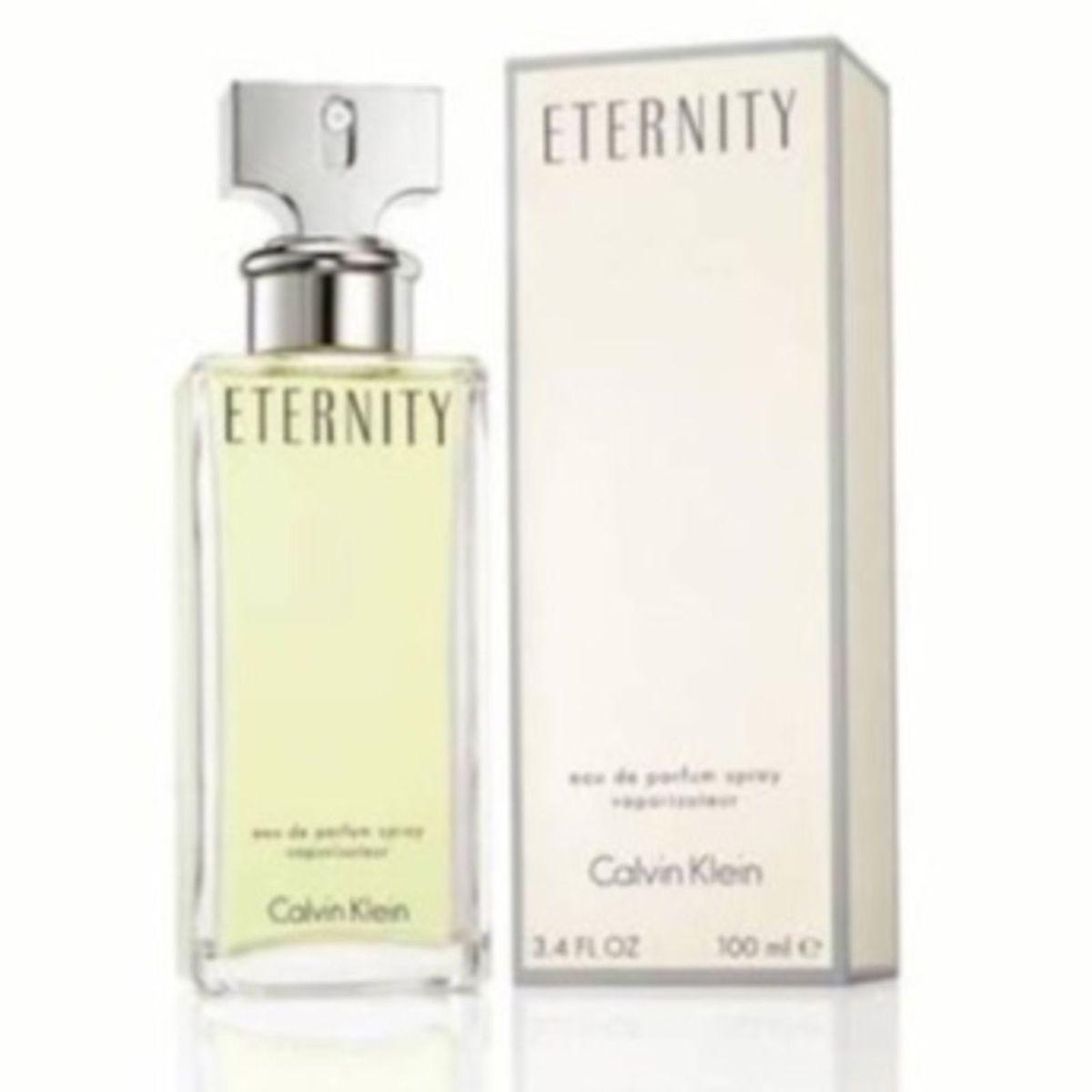 Calvin Klein Eternity Feminino Lacrado   Perfume Feminino Calvin ... fcd2082a36