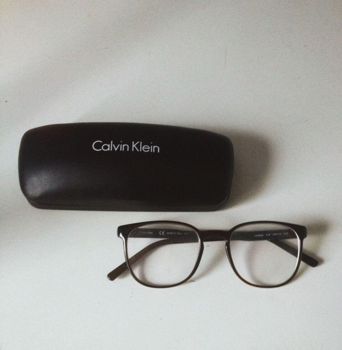 Calvin Klein Óculos de Grau   Óculos Masculino Calvin Klein Usado ... 5af46c690c