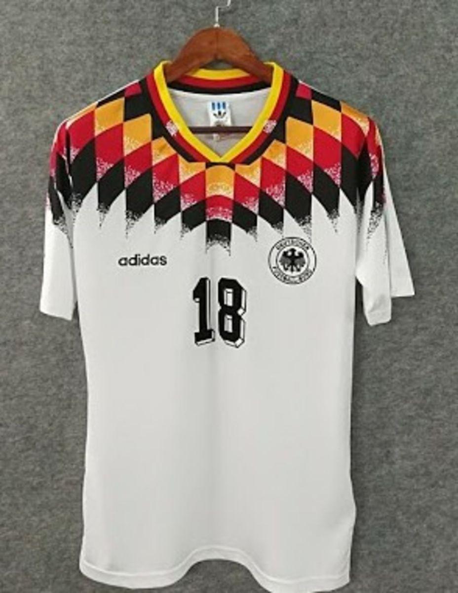 camisa adidas alemanha original retrô 1994 - home - camisas adidas 78d3e6e525da6