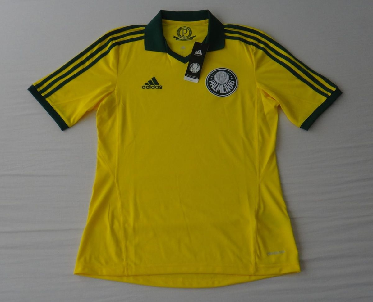3f95a4dd76 camisa adidas palmeiras pátria amada original - tam  p - esportes adidas