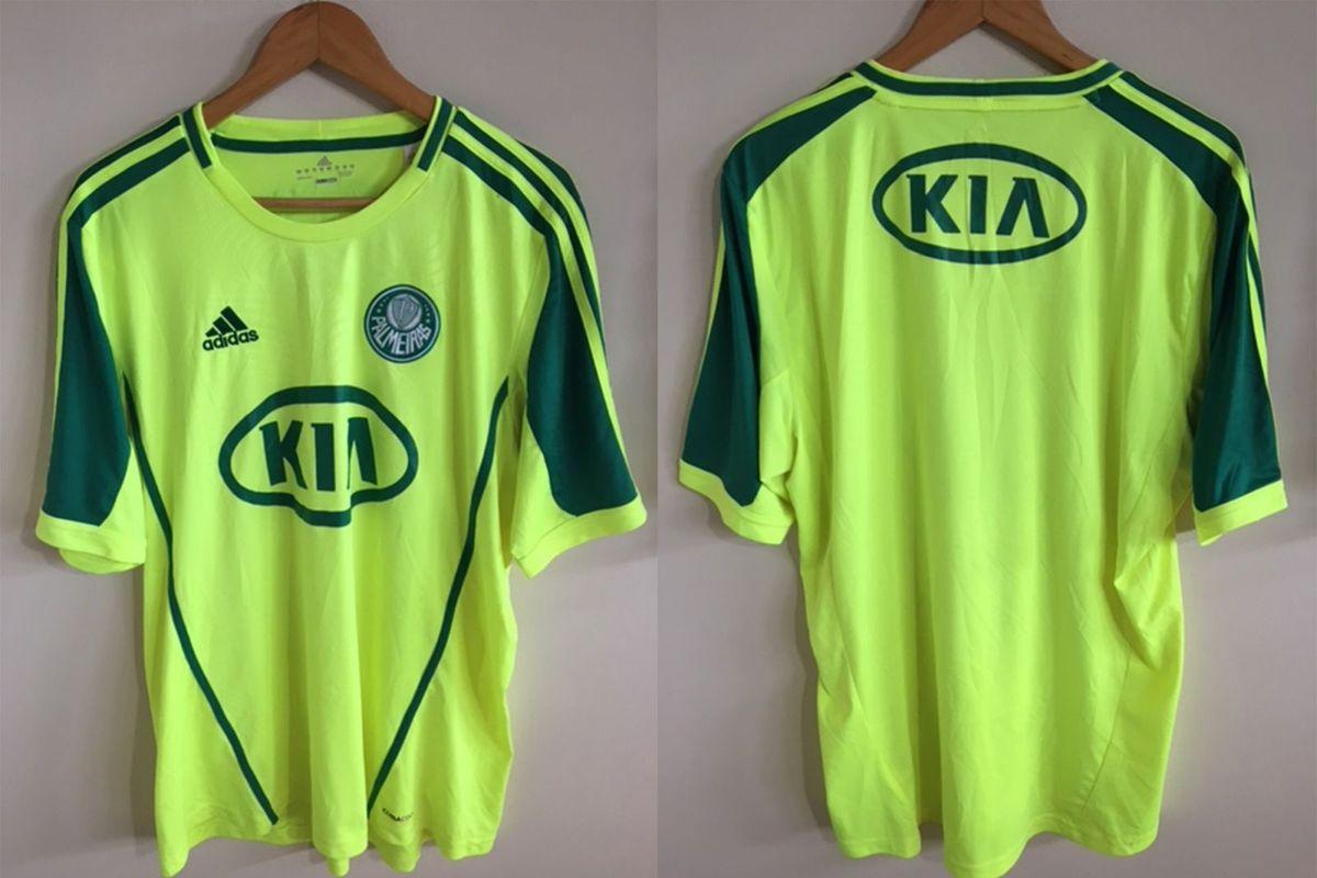 camisa adidas verde limão palmeiras 2012 - esportes adidas 10de426a88506