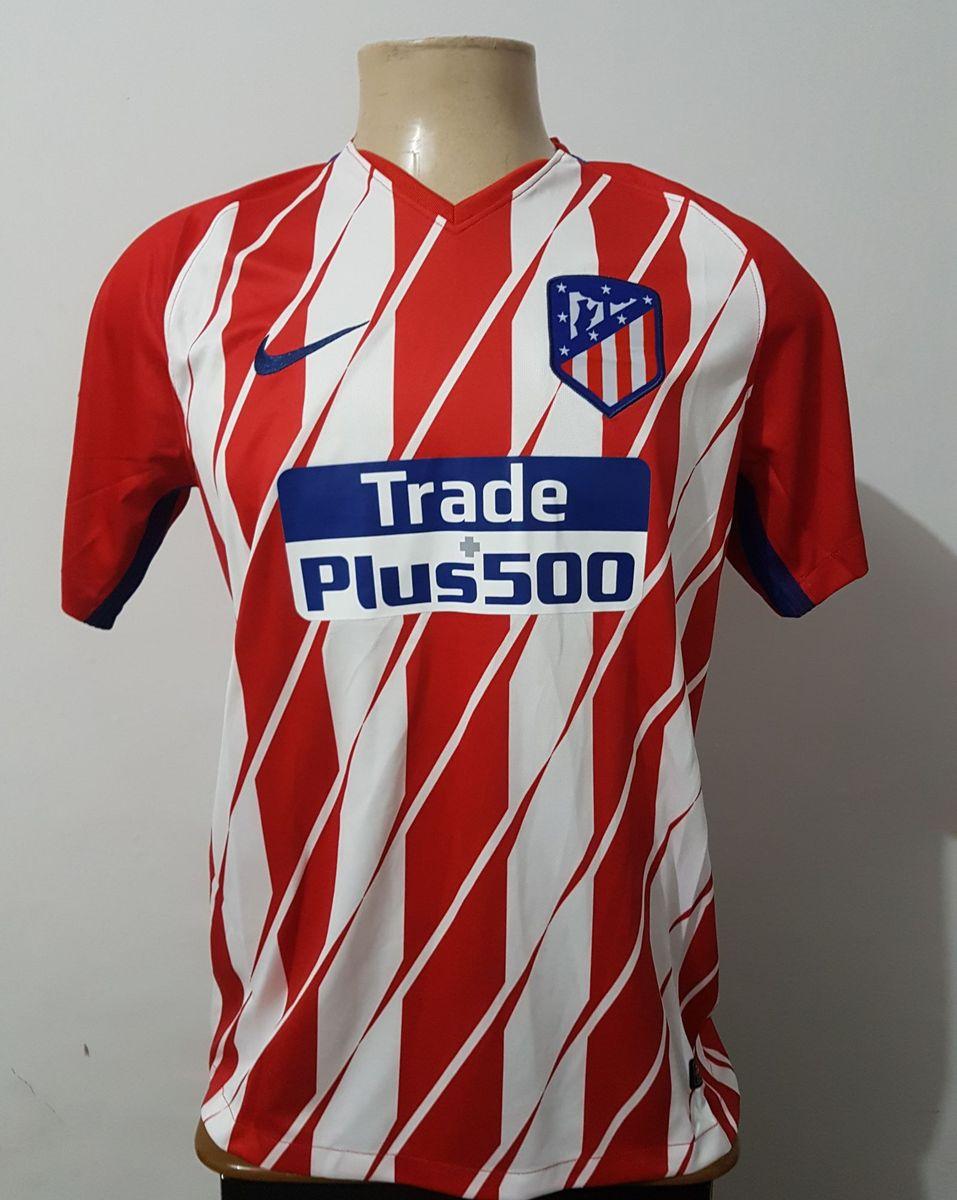 camisa atlético de madrid home 17 18 s n° torcedor - camisetas nike 8aff3591d3e98