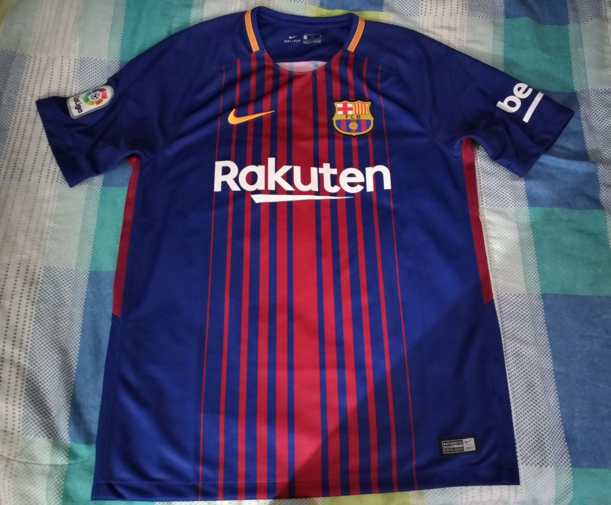camisa barcelona home 2017 18 - n10 messi - esportes nike 9df2fb4c4dcfb