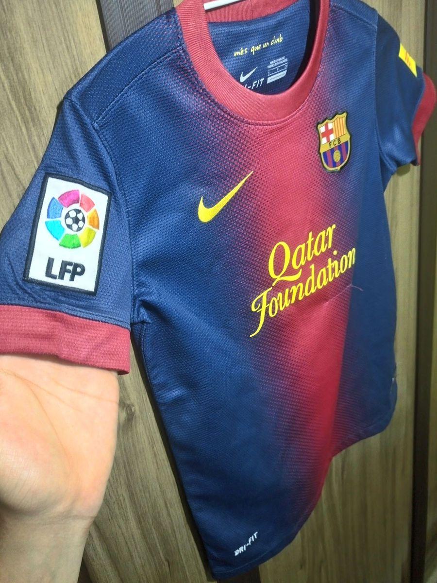 camisa barcelona nike infantil - original - menino nike bbcd2e697e4
