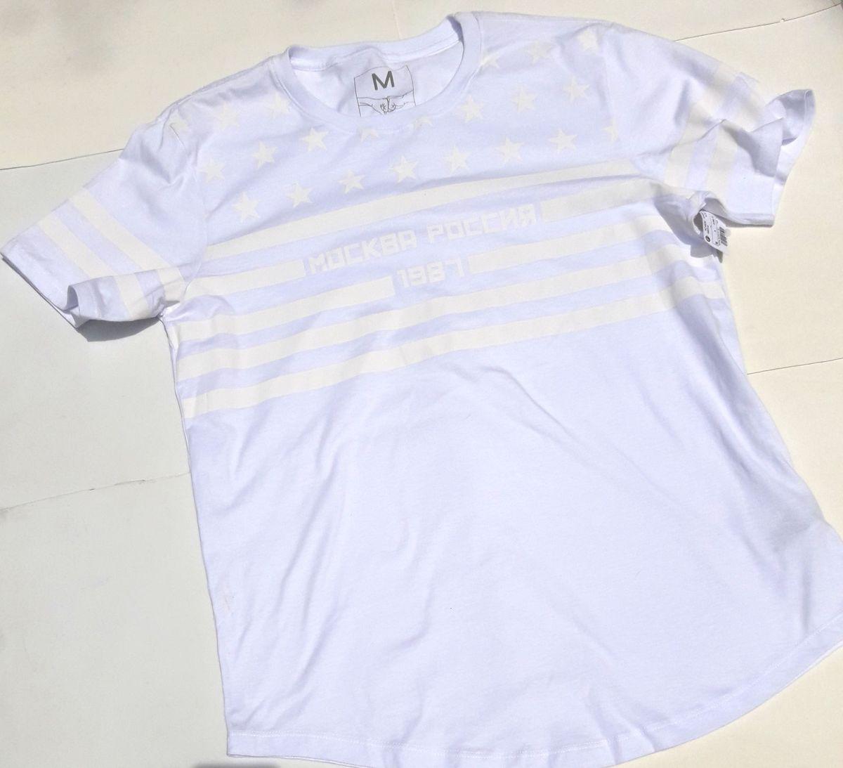 da3fbc0cd0 camisa blusa branca masculina com cós arredondado - camisas blue steel  modelo