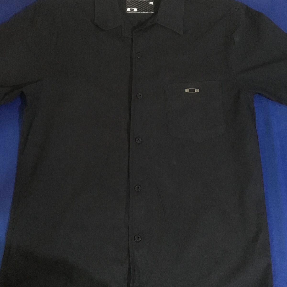 Camisa Botão Oakley  f98bb36dd34
