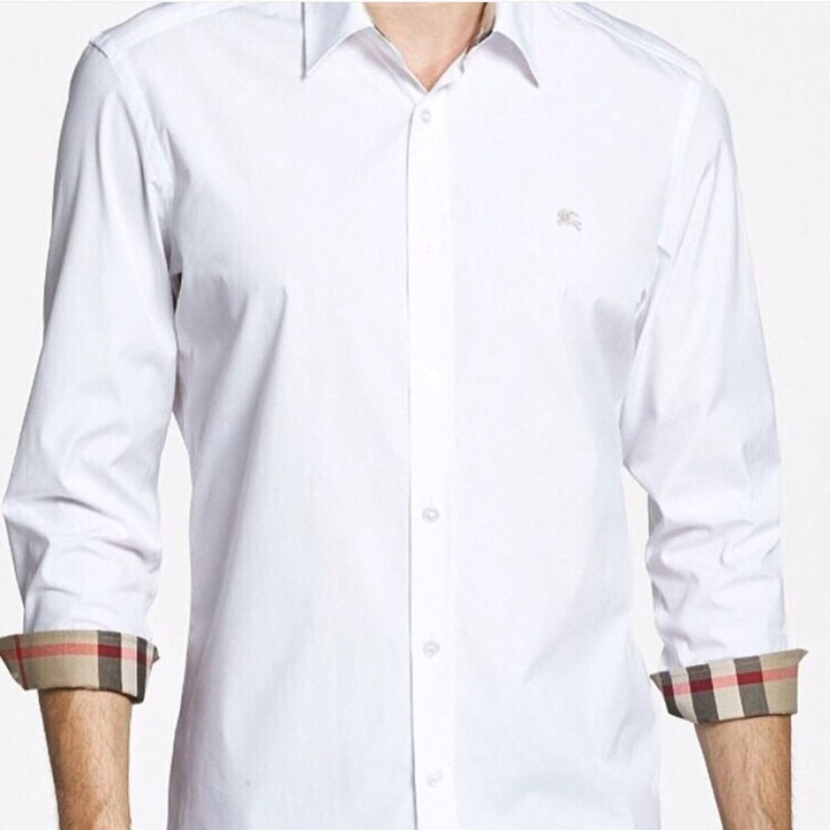 Camisa Burberry Social Nova  2aee3447d31