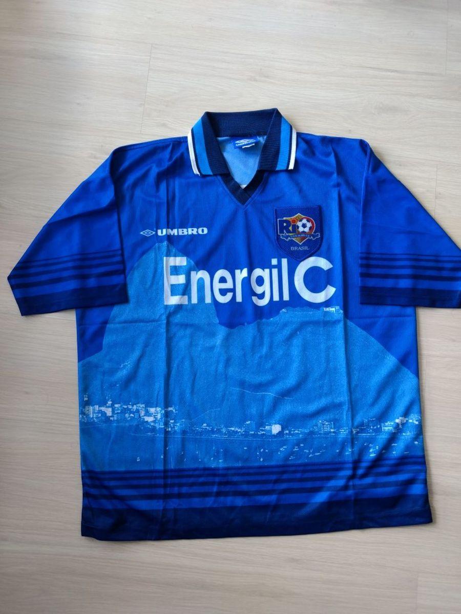 camisa cfz do rio (clube de futebol do zico) - reliquia - de colecionador eb1a03fb47713