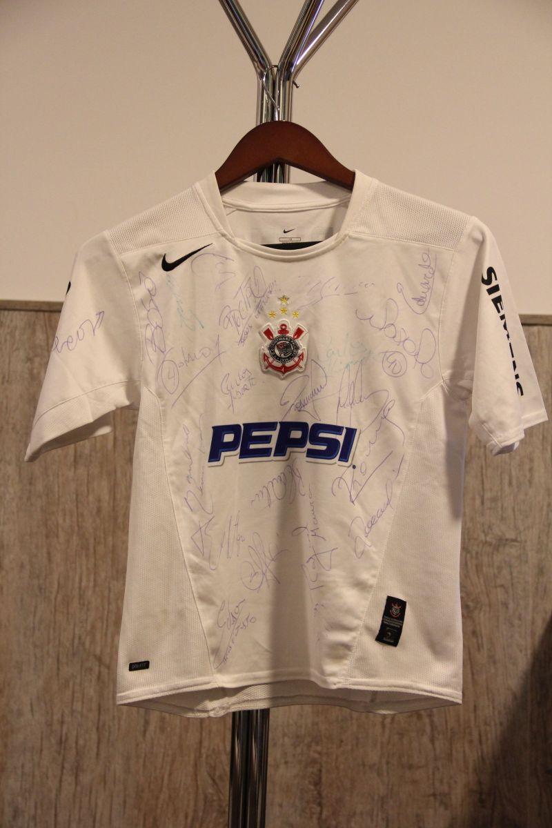 camisa autografada histórica corinthians - camisetas nike da68660682b2c