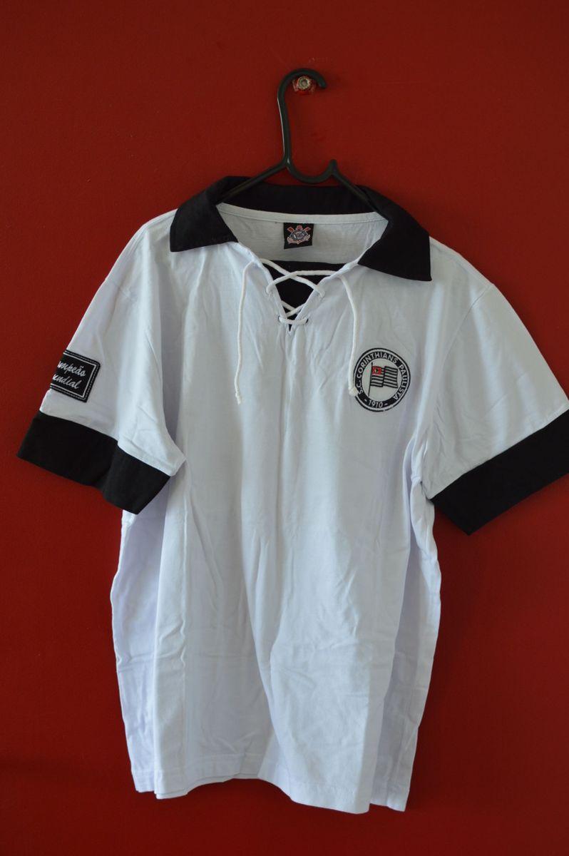 adf5e640b5 camisa corinthians comemorativa década de 1950 retrô - camisetas todo  poderoso timão