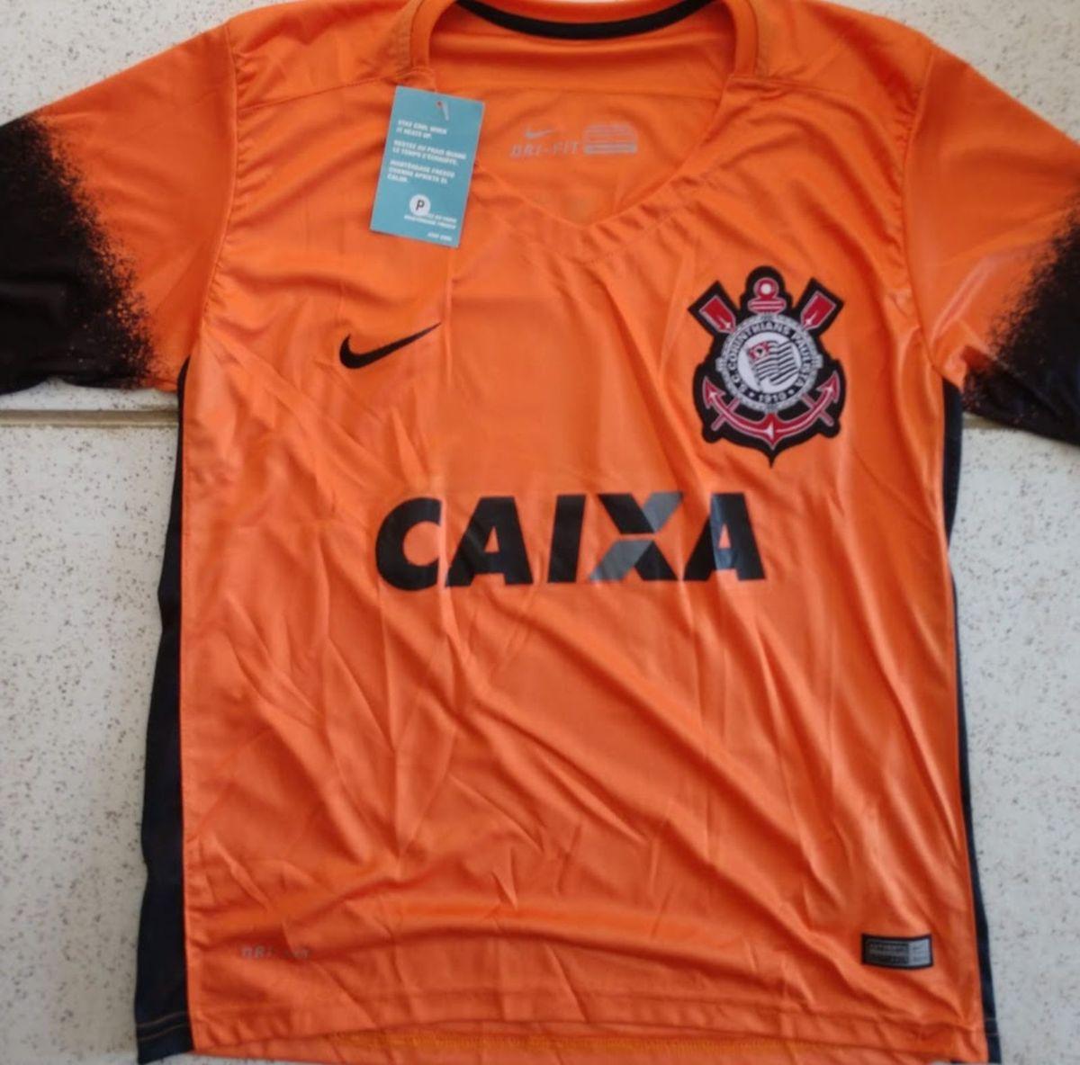 camisa corinthians laranja 2015 tamanho p - camisas nike 4eef29a8c7802
