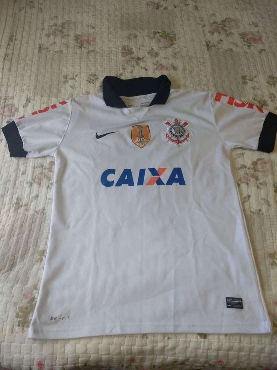 camisa corinthians patch campeão mundial - original - esportes nike a2c946a080249